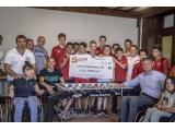Un calcio balilla per l'ASSI: grazie Cavarzano Oltrardo